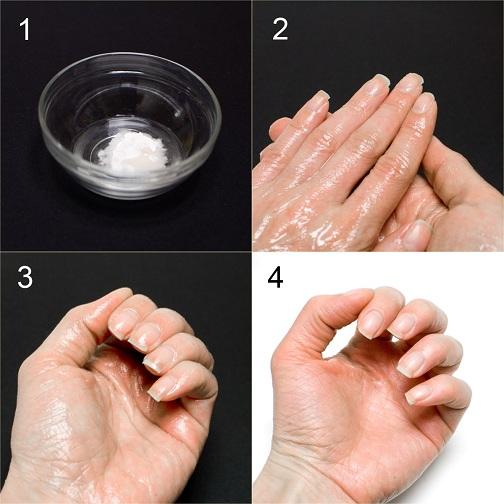 Oil Mask for Wrinkles on Hands