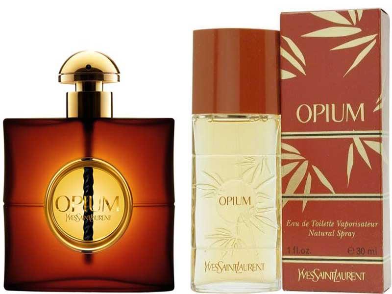 opium perfumes