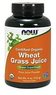 Now Foods Organic Wheatgrass Juice Powder