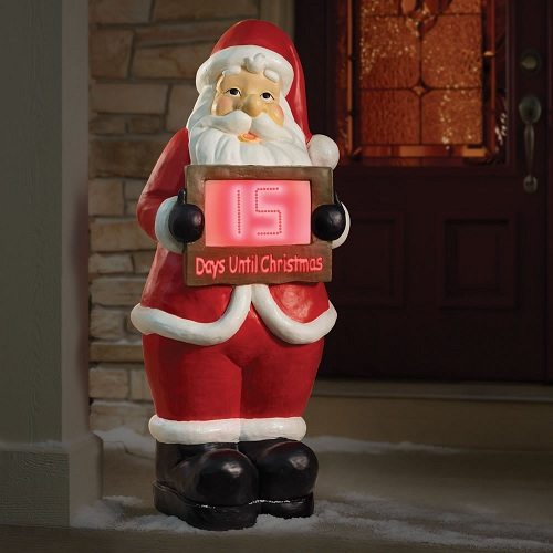 Outdoor Christmas Countdown Clocks