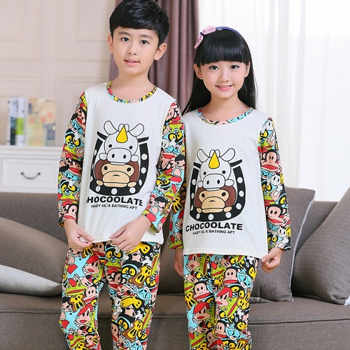 Pajama with Cartoon Characters