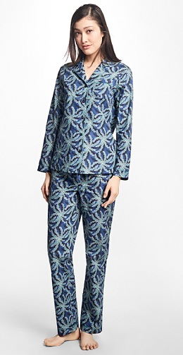 Palm Tree Printed Pajamas