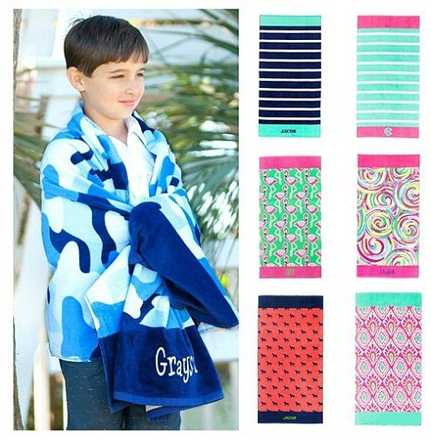 Personalized Beach kids Towels