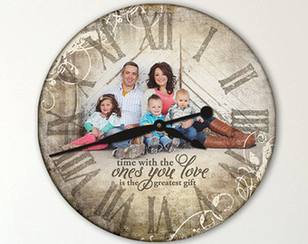 personalized clock designs