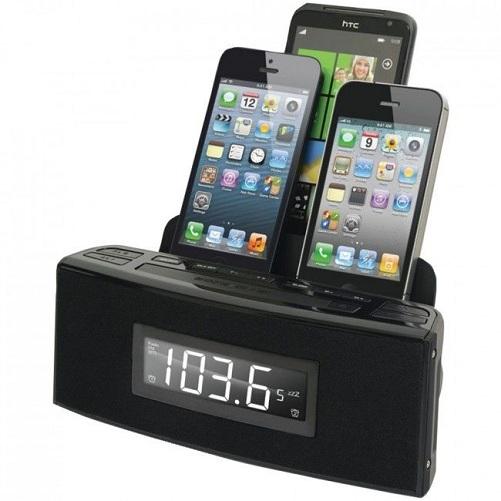 Phone Port Atomic Clock