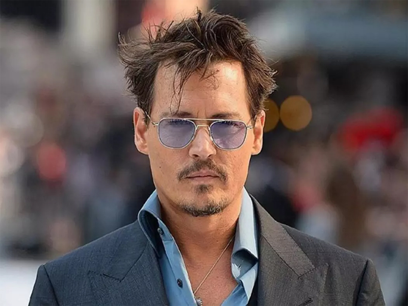 Johnny Depp Without Makeup