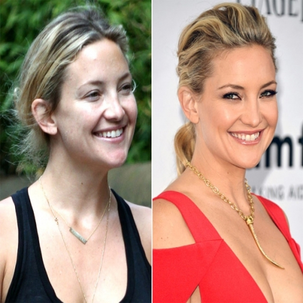 Kate Hudson Without Makeup