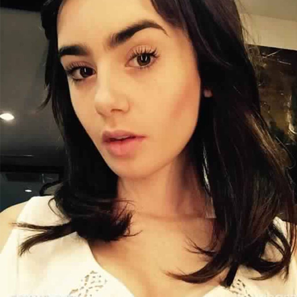 Lily Collins With No Makeup