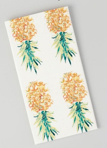 Pineapple Print kitchen Hand Towel