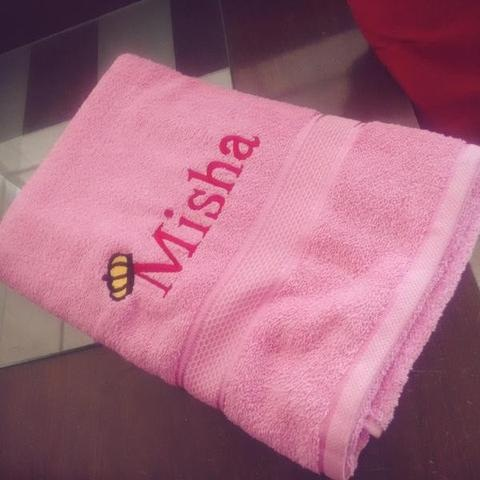 Baby Personalised Towels