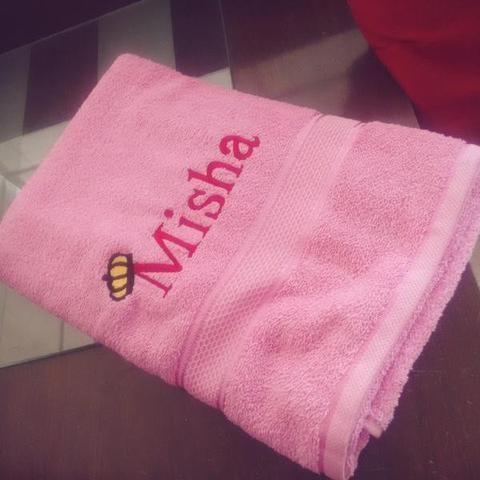 Baby Personalised Towels