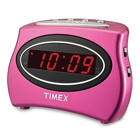Pink Loud Alarm Clock