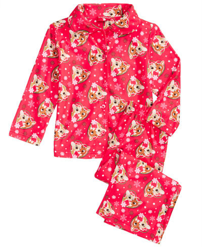 Pink Pajama Set for Girls