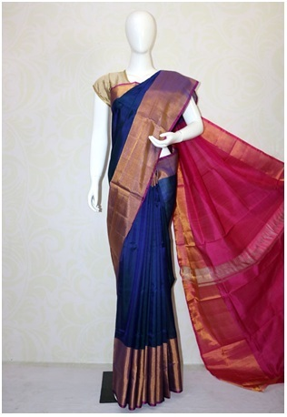 0ae994db59fd68 Latest Collection of Uppada Sarees That Will Gives A Regal Look