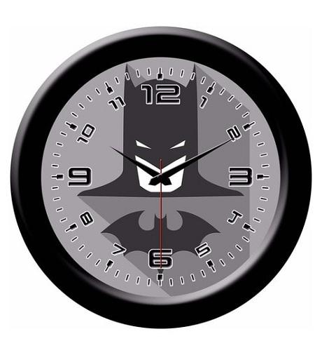 Plastic Black Designer Wall Clocks