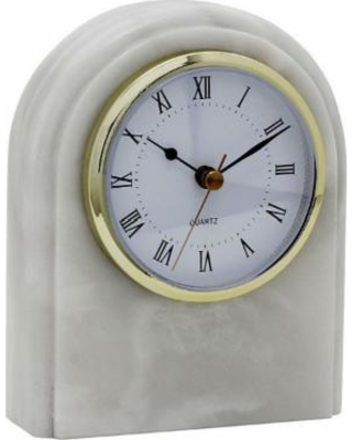 Polaris Marble Desk Clocks