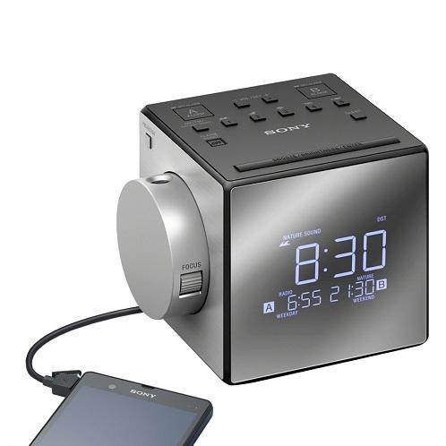 Projector Dual Alarm Clock