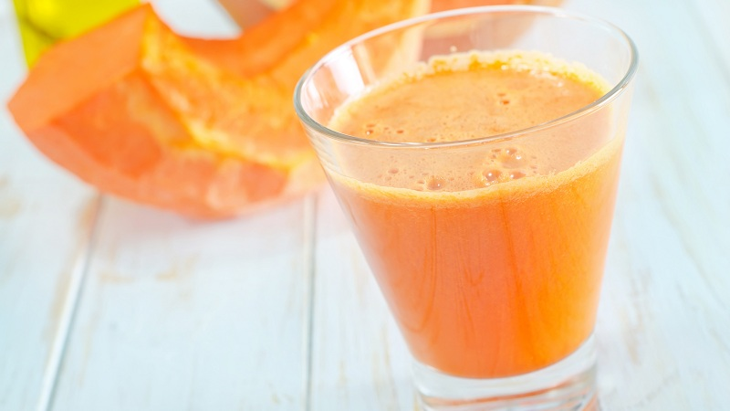 Pumpkin juice benefits