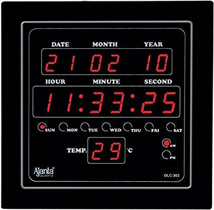 Quartz LED Clock