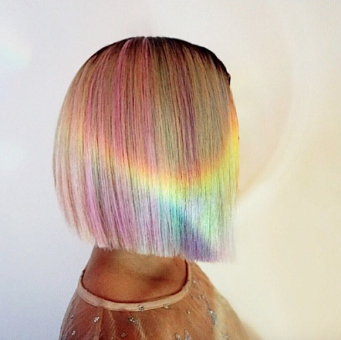 Rainbow Style U Cut