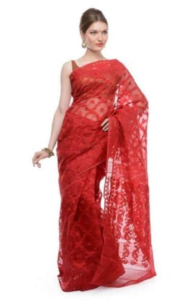 d042bacc8c16c 20 Modern Designs of Jamdani Sarees for Classy Look