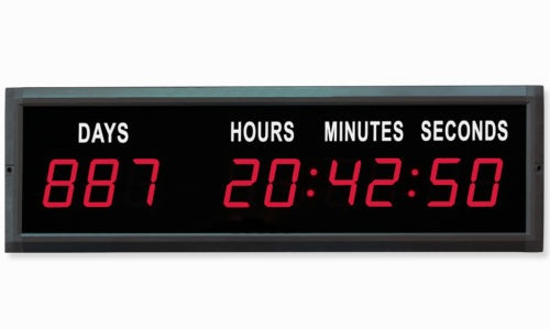 Red LED Digital Countdown Clocks