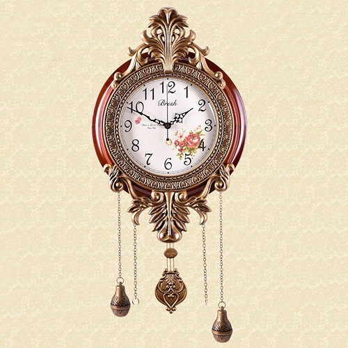 Retro Vintage Imperial Style Elegant Wall Clock