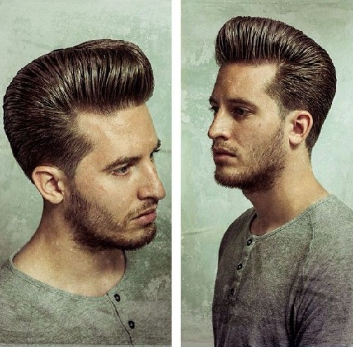Retro Hipster Hairstyle