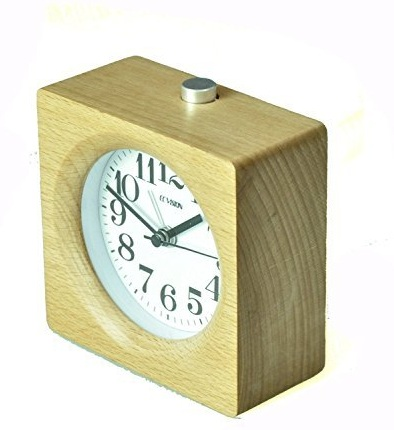 Retro Wooden Alarm Clock