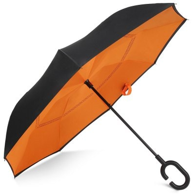 Reverse Close Windproof Umbrellas