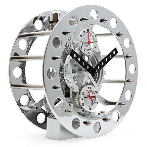 Revolving Mechanical Clock