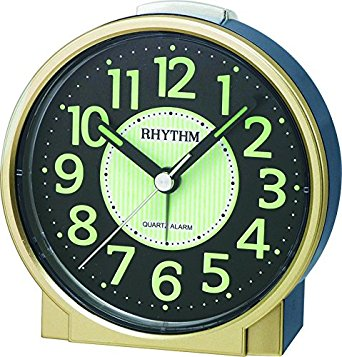 Rhythm Quartz Alarm Clock