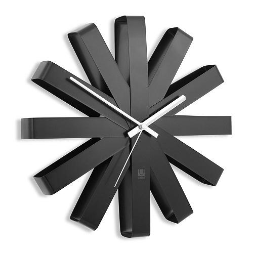 Ribbon Modern Wall Clock