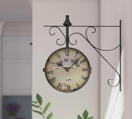 15 Best Hanging Wall Clock Designs With Images Styles At