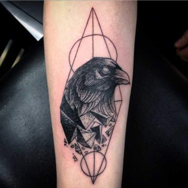crow tattoo 11