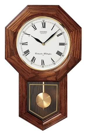 School House Chiming Clock