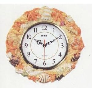 Sea Shell Clocks