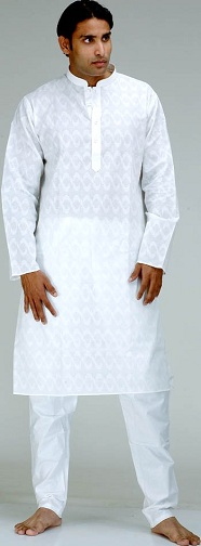Self-Pattern Kurta Pajama