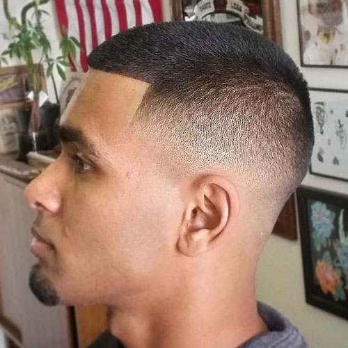 Shape up Buzz Fade High and Tight Haircuts