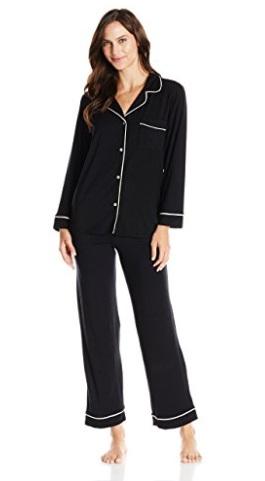Shirt Collar Pajama Set