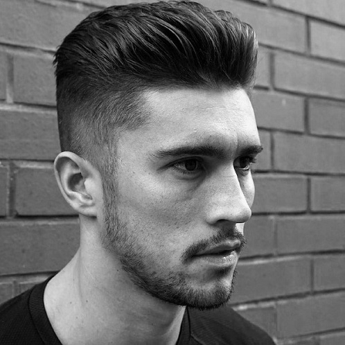Short Slick Back Hairstyle
