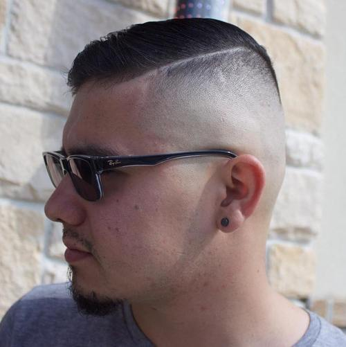 Side Part High and Tight Haircuts