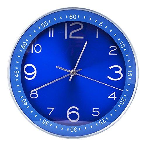Silent Metal Wall Clock