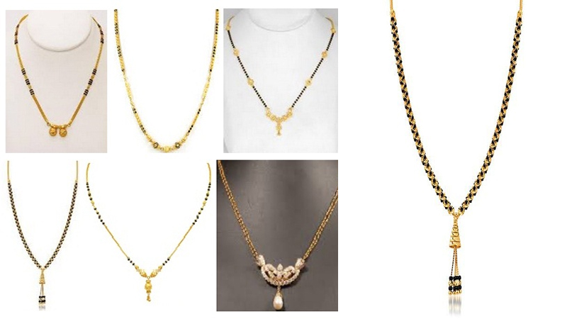 Simple Looking Mangalsutra Designs with Images
