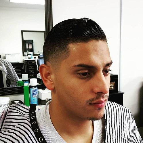 Sleek Classic High and Tight Haircuts