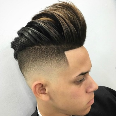 Slick Back With Volume