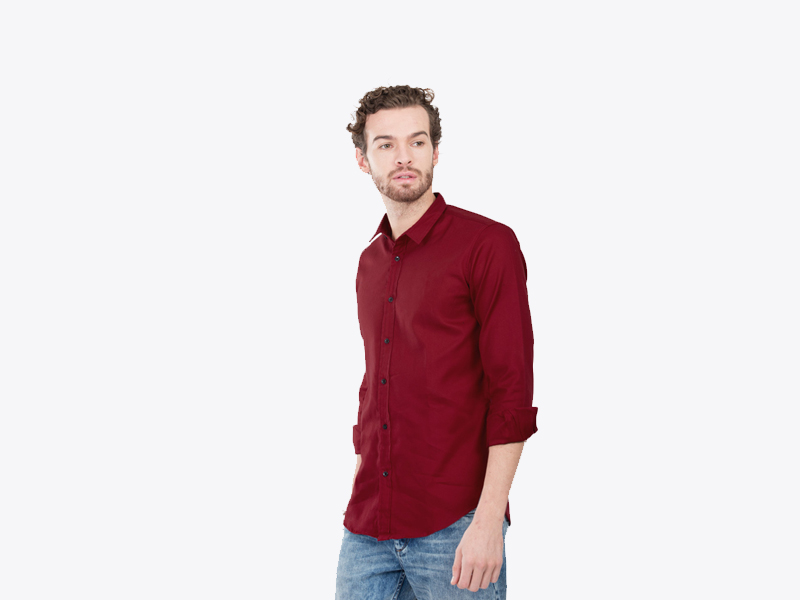 Slim Fit Shirts For Men