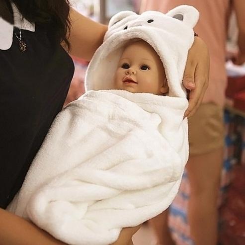 Soft Baby Bath Towel