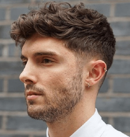 Sporty Thick Taper Haircut