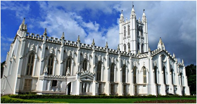 St. Paul Cathedral in Kolkata